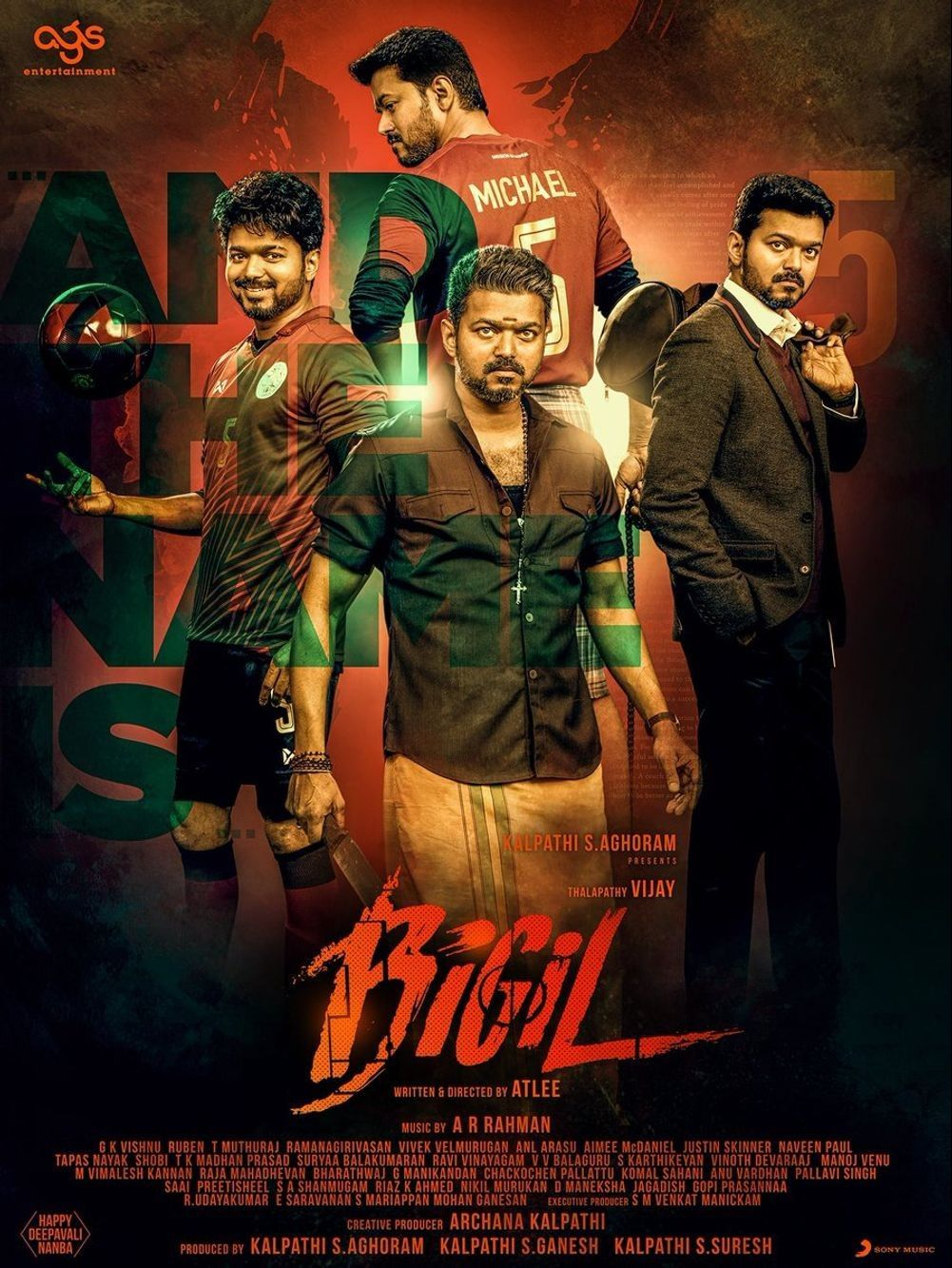 Bigil Movie Latest HD Photos & Posters, Wallpapers Download (1080p) (47106) - Bigil, Vijay
