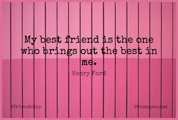 Short Friendship Quote by Henry Ford about Inspirational,Best Friend,Positive for WhatsApp DP / Status, Instagram Story, Facebook Post. (409313) - Friendship Quotes