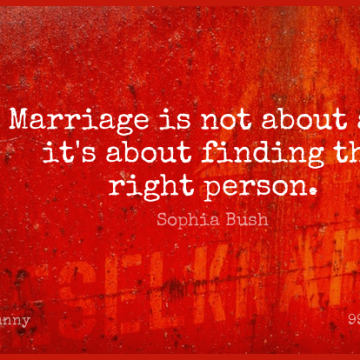 Short Funny Quote by Sophia Bush about Inspirational,Birthday,Marriage for WhatsApp DP / Status, Instagram Story, Facebook Post.