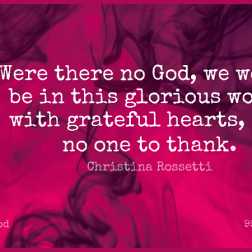 Short God Quote by Christina Rossetti about Faith,Grateful,Heart for WhatsApp DP / Status, Instagram Story, Facebook Post.