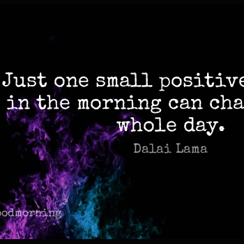 Short Good Morning Quote by Dalai Lama about Happiness,Encouraging,Monday for WhatsApp DP / Status, Instagram Story, Facebook Post.