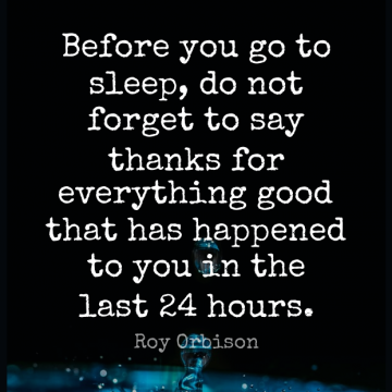 Short Good Night Quote by Roy Orbison about Goodnight,Sleep,Lasts for WhatsApp DP / Status, Instagram Story, Facebook Post.