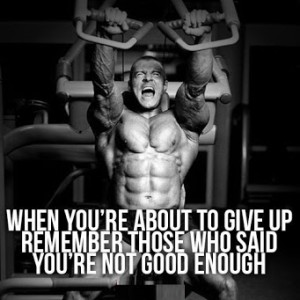 Gym/Fitness Quotes Collection (Bodybuiling & Motivation) - #15690