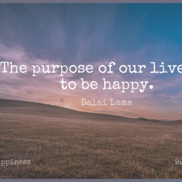 Short Happiness Quote by Dalai Lama about Inspirational,Life,Happy for WhatsApp DP / Status, Instagram Story, Facebook Post.