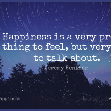 Short Happiness Quote by Jeremy Bentham about Dry,Pretty Things,Utilitarianism for WhatsApp DP / Status, Instagram Story, Facebook Post.