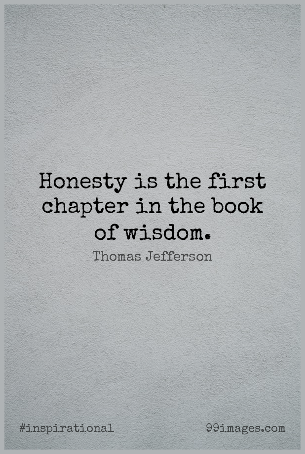 Short Inspirational Quote by Thomas Jefferson about Positive,Wisdom,Truth for WhatsApp DP / Status, Instagram Story, Facebook Post. (503546) - Inspirational Quotes