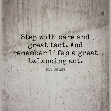 Short Inspirational Quote by Dr. Seuss about Positive,Places You Go,Care for WhatsApp DP / Status, Instagram Story, Facebook Post.