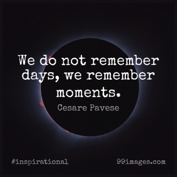 Short Inspirational Quote by Cesare Pavese about Love,Life,Friendship for WhatsApp DP / Status, Instagram Story, Facebook Post.