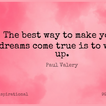 Short Inspirational Quote by Paul Valery about Motivational,Positive,Dream for WhatsApp DP / Status, Instagram Story, Facebook Post.