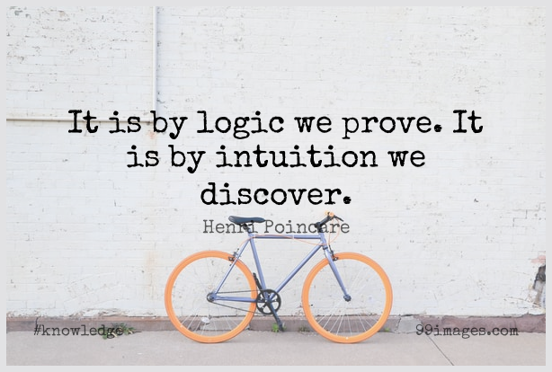 Short Knowledge Quote by Henri Poincare about Truth,Science,Discovery for WhatsApp DP / Status, Instagram Story, Facebook Post.