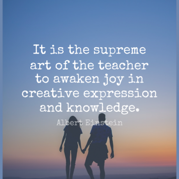 Short Knowledge Quote by Albert Einstein about Inspirational,Dance,Education for WhatsApp DP / Status, Instagram Story, Facebook Post.