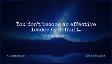 Short Leadership Quote by John C. Maxwell about Leader,Default for WhatsApp DP / Status, Instagram Story, Facebook Post.