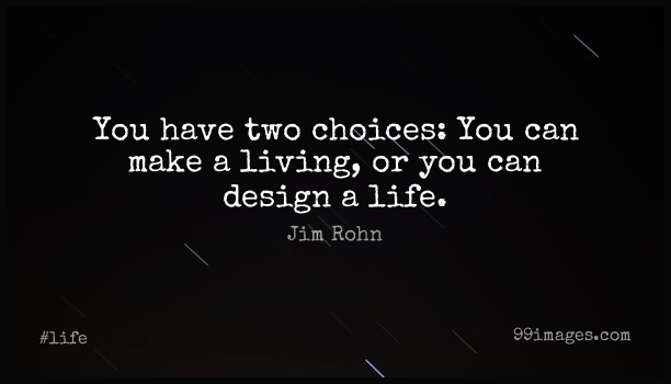 Short Life Quote by Jim Rohn about Motivational,Happiness,Being Happy for WhatsApp DP / Status, Instagram Story, Facebook Post. (503573) - Life Quotes