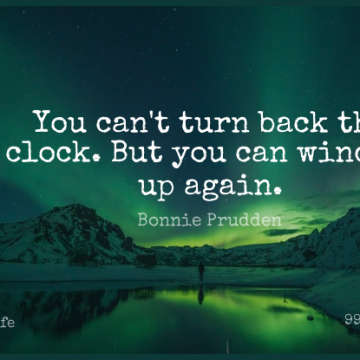 Short Life Quote by Bonnie Prudden about Inspirational,Time,Wind for WhatsApp DP / Status, Instagram Story, Facebook Post.