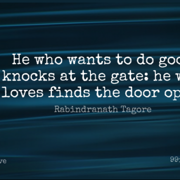 Short Love Quote by Rabindranath Tagore about Relationship,Wisdom,Flower for WhatsApp DP / Status, Instagram Story, Facebook Post.