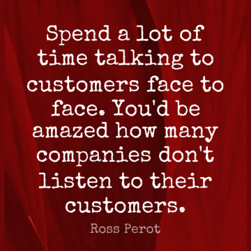 Short Loyalty Quote by Ross Perot about Inspirational,Educational,Talking for WhatsApp DP / Status, Instagram Story, Facebook Post.