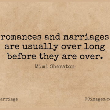 Short Marriage Quote by Mimi Sheraton about Long,Romance for WhatsApp DP / Status, Instagram Story, Facebook Post.