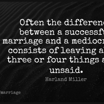 Short Marriage Quote by Harland Miller about Successful,Differences,Leaving for WhatsApp DP / Status, Instagram Story, Facebook Post.