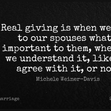 Short Marriage Quote by Michele Weiner-Davis about Relationship,Real,Hard Times for WhatsApp DP / Status, Instagram Story, Facebook Post.