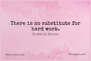 Short Motivational Quote by Thomas A. Edison about Perseverance,Morning,Work for WhatsApp DP / Status, Instagram Story, Facebook Post.
