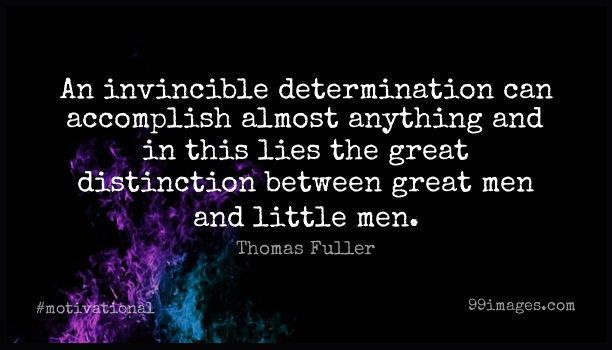 Short Motivational Quote by Thomas Fuller about Inspirational,Determination,Lying for WhatsApp DP / Status, Instagram Story, Facebook Post. (409307) - Motivational Quotes