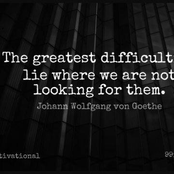 Short Motivational Quote by Johann Wolfgang von Goethe about Lying,Adversity,Difficulty for WhatsApp DP / Status, Instagram Story, Facebook Post.