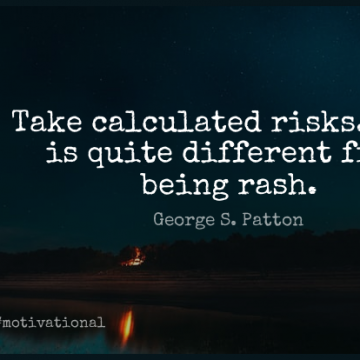 Short Motivational Quote by George S. Patton about Inspirational,Encouraging,Hard Work for WhatsApp DP / Status, Instagram Story, Facebook Post.