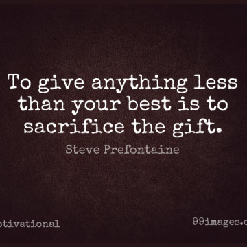Short Motivational Quote by Steve Prefontaine about Inspirational,Leadership,Sports for WhatsApp DP / Status, Instagram Story, Facebook Post.