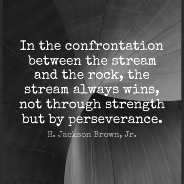 Short Motivational Quote by H. Jackson Brown, Jr. about Inspirational,Positive,Strength for WhatsApp DP / Status, Instagram Story, Facebook Post.