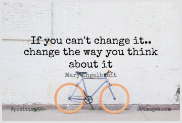 Short Positive Quote by Mary Engelbreit about Inspirational,Change,Attitude for WhatsApp DP / Status, Instagram Story, Facebook Post.