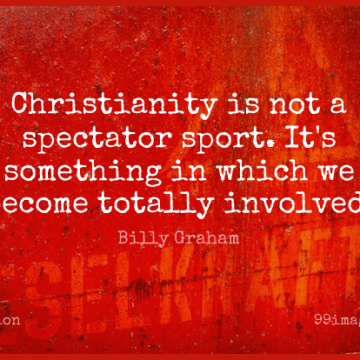 Short Religion Quote by Billy Graham about Sports,Christian,Religious for WhatsApp DP / Status, Instagram Story, Facebook Post.