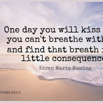 Short Romantic Quote by Paula Abdul about Kissing,Soul,Ease for WhatsApp DP / Status, Instagram Story, Facebook Post.