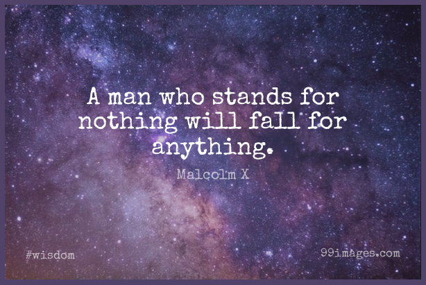 Short Wisdom Quote by Malcolm X about Peace,War,Fall for WhatsApp DP / Status, Instagram Story, Facebook Post. (454335) - Wisdom Quotes