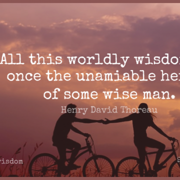 Short Wisdom Quote by Henry David Thoreau about Wise,Men,Appreciate for WhatsApp DP / Status, Instagram Story, Facebook Post.