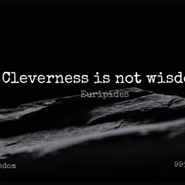 Short Wisdom Quote by Euripides about Life And Love,Silly,Knowledge for WhatsApp DP / Status, Instagram Story, Facebook Post.