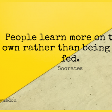 Short Wisdom Quote by Socrates about Wise,People,Feds for WhatsApp DP / Status, Instagram Story, Facebook Post.