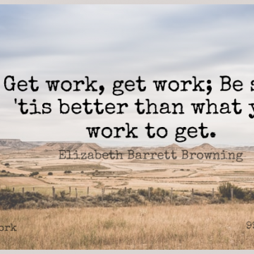 Short Work Quote by Elizabeth Barrett Browning about  for WhatsApp DP / Status, Instagram Story, Facebook Post.