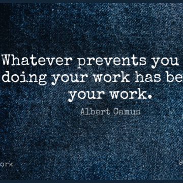 Short Work Quote by Albert Camus about  for WhatsApp DP / Status, Instagram Story, Facebook Post.