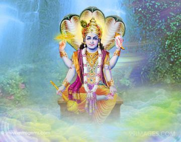 Lord Vishnu HD Images (1080p)