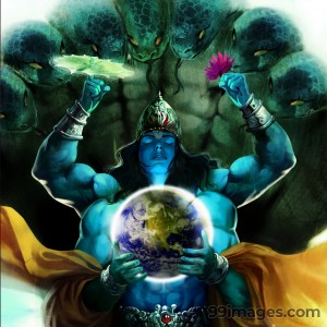 Lord Vishnu HD Images (1080p) - #5292