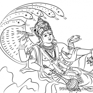 Lord Vishnu HD Images (1080p) - #5294