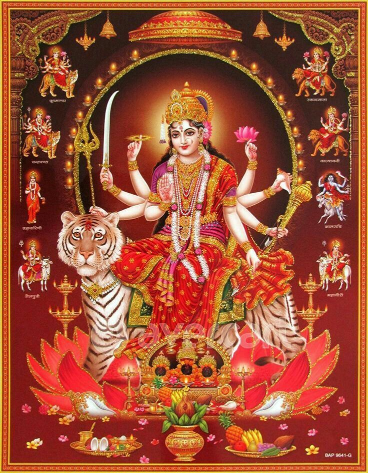 [October 25, 2020] Maa Durga Devi (Navaratri / Dussehra) Latest HD Photos / Wallpapers Download (1080p) (55664) - Maa Durga Devi