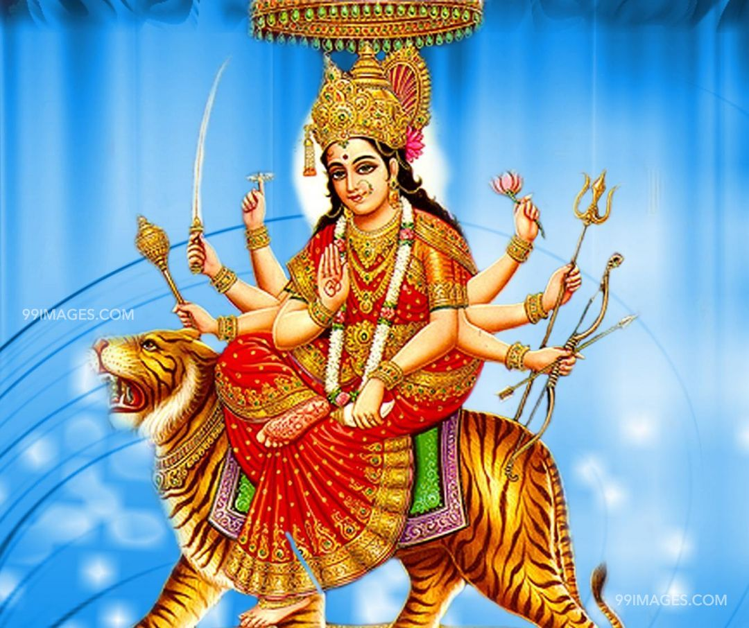 [October 25, 2020] Maa Durga Devi (Navaratri / Dussehra) Latest HD Photos / Wallpapers Download (1080p) (2928) - Maa Durga Devi