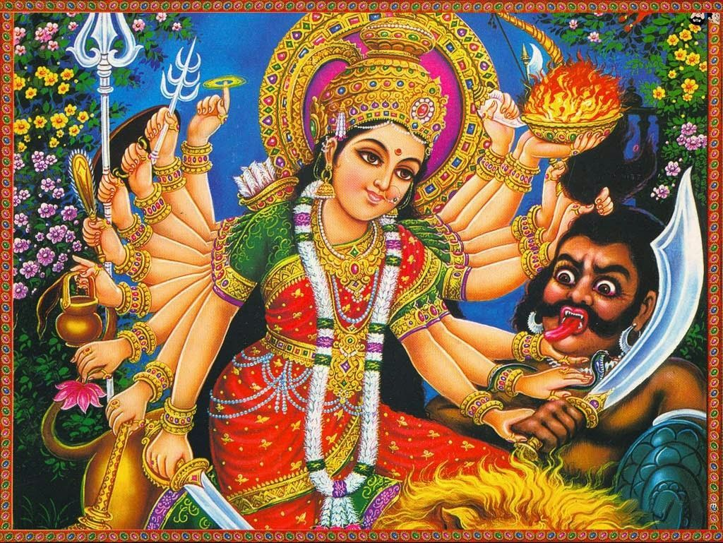 [October 25, 2020] Maa Durga Devi (Navaratri / Dussehra) Latest HD Photos / Wallpapers Download (1080p) (55722) - Maa Durga Devi
