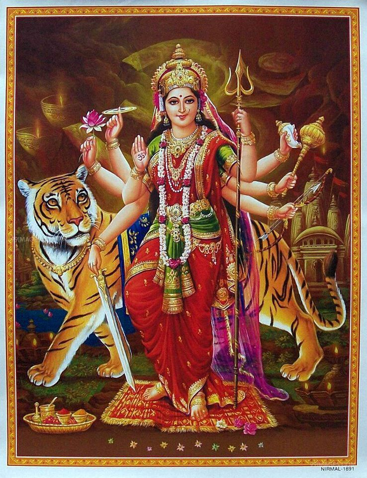 [October 25, 2020] Maa Durga Devi (Navaratri / Dussehra) Latest HD Photos / Wallpapers Download (1080p) (2904) - Maa Durga Devi