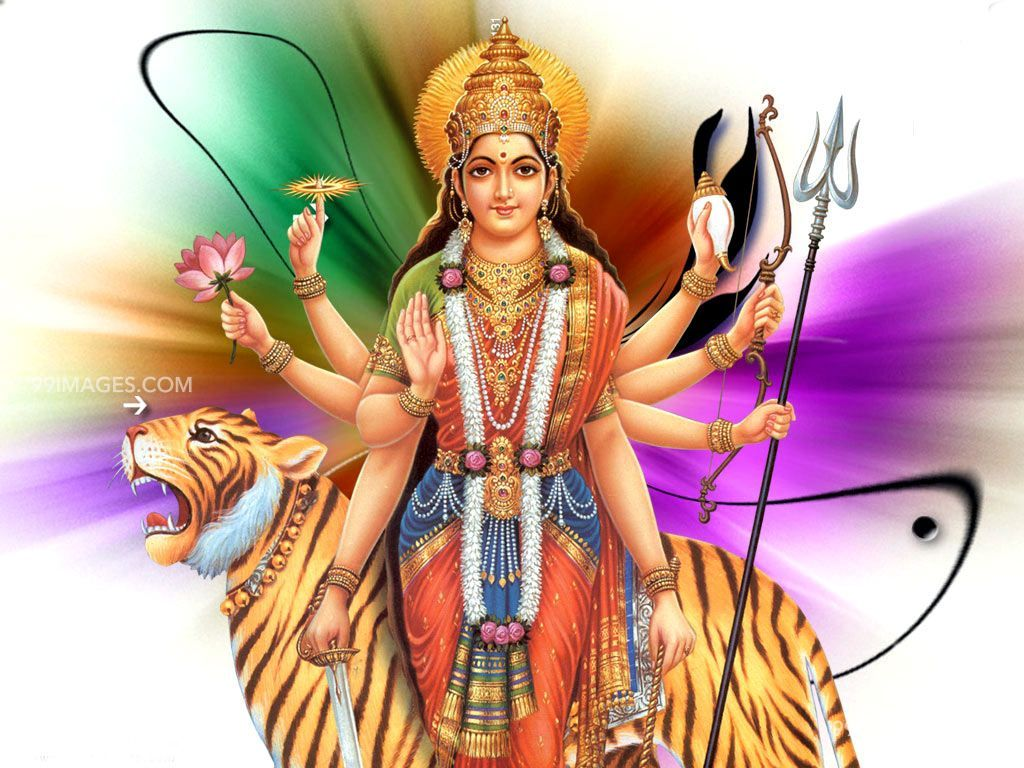 [October 25, 2020] Maa Durga Devi (Navaratri / Dussehra) Latest HD Photos / Wallpapers Download (1080p) (2925) - Maa Durga Devi