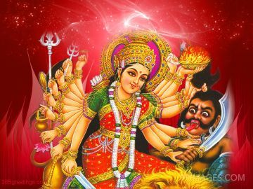 [October 15, 2021] Maa Durga Devi (Navaratri / Dussehra) Latest HD Photos / Wallpapers Download (1080p)