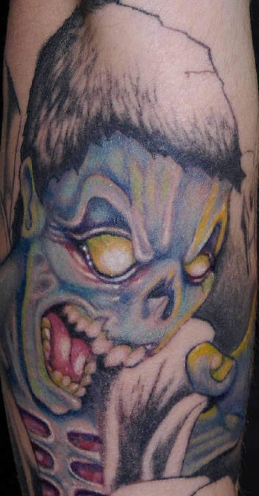 Blue Zombie Tattoo Design (299257) - Best  Tattoos