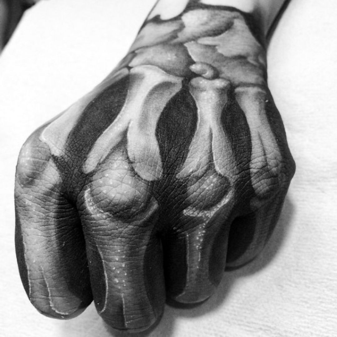 Hand Tattoo Design (240382) - Best  Tattoos