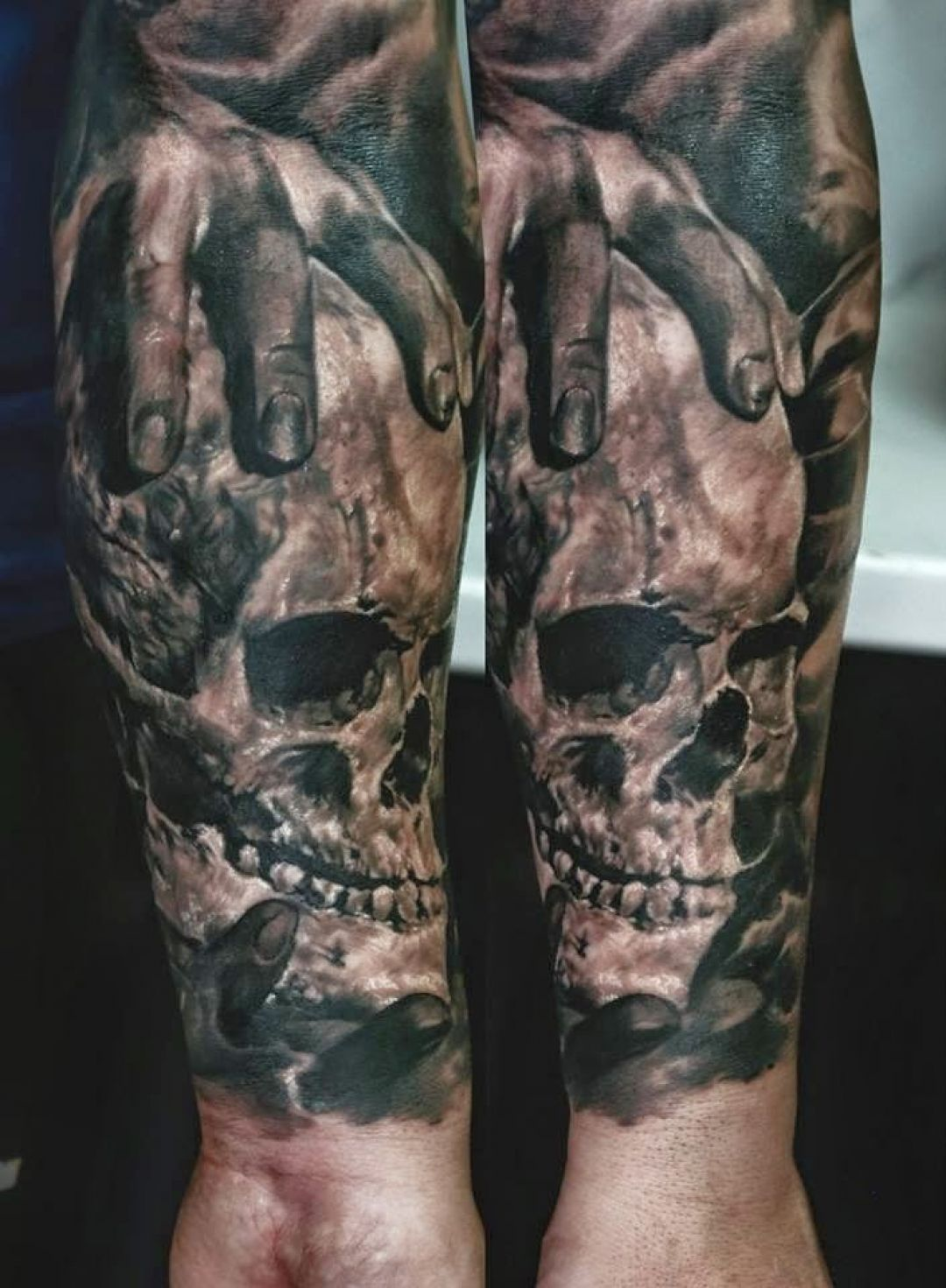 Skull Hand, Forearm Tattoo Design (240475) - Best  Tattoos